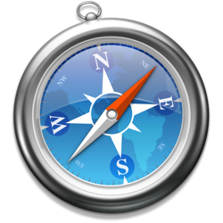 The Apple Safari logo