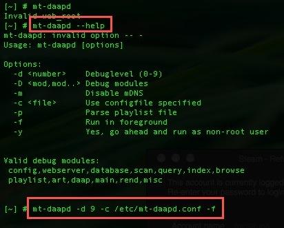 Qnap iTunes server help