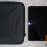 iPad and the case side by side